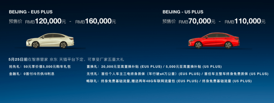 BEIJING-EU5 PLUS/U5 PLUS上海车展开启预售-亚博棋牌官网