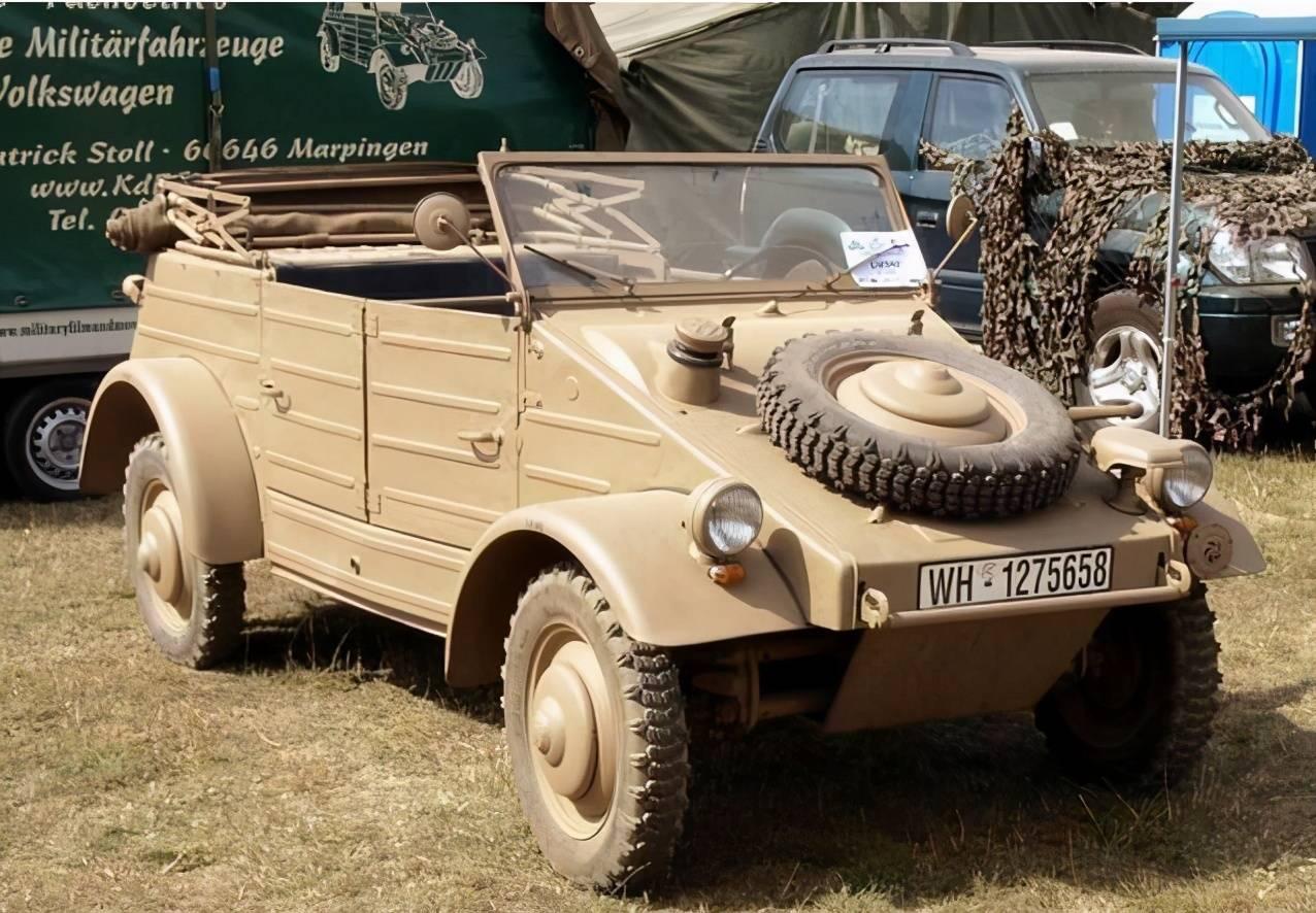 隆美尔钟爱的座驾,二战中德军的战地出租车,一代经典82型桶车