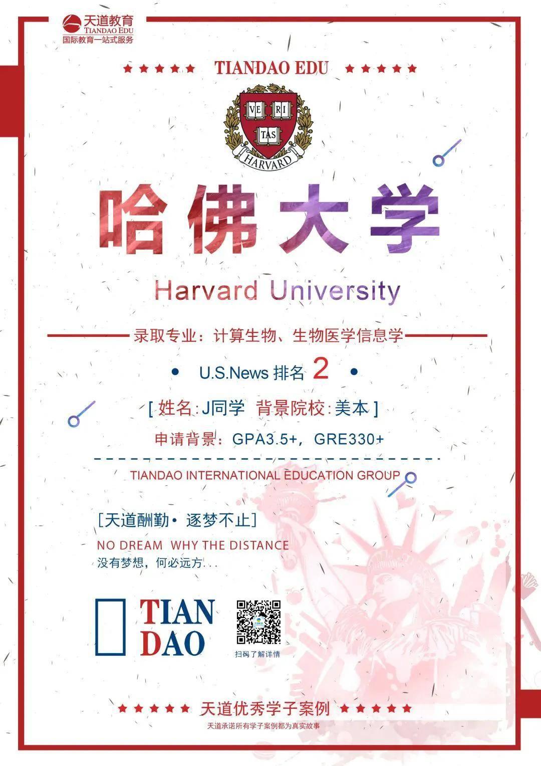 历经三年留学规划,我圆梦哈佛啦~