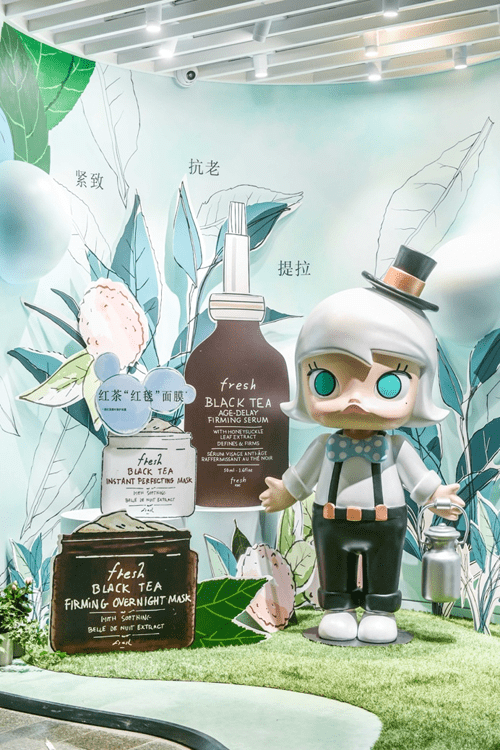 """fresh × Pop Mart """"Wild Lab大自然实验室""""正式开幕"""