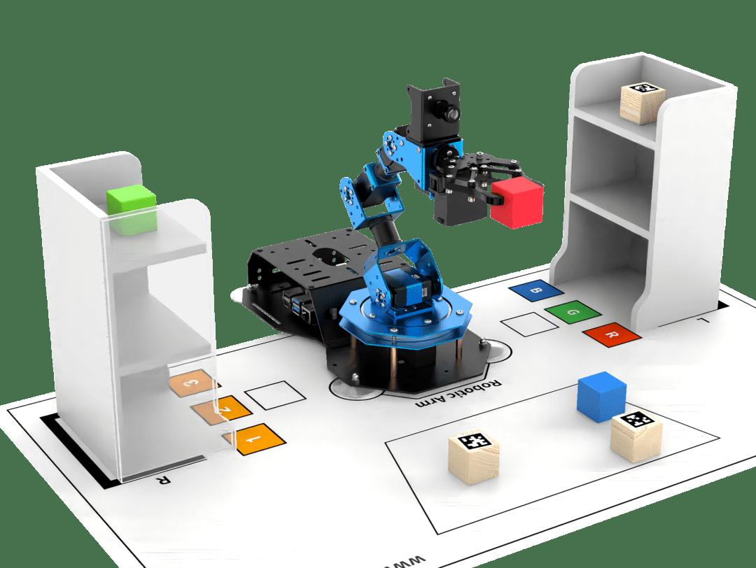 幻尔科技推出全新ArmPi FPV智能视觉机械臂,为人工智能教育赋能!