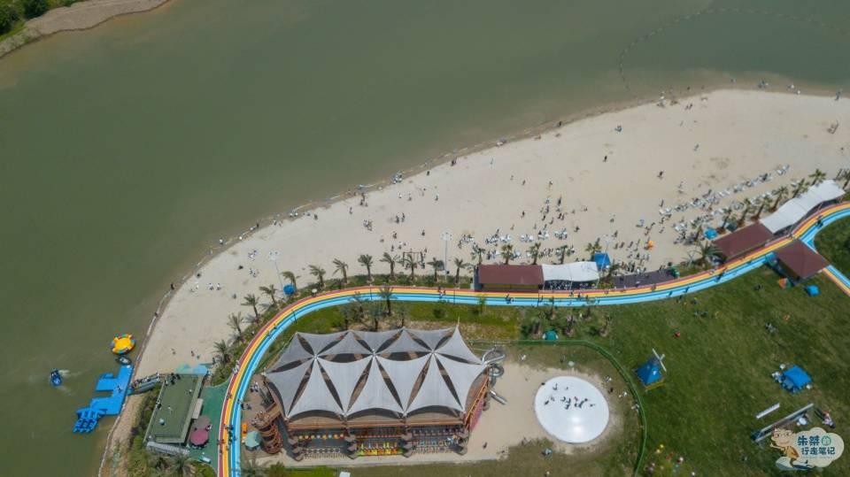原创             安吉最特别的旅游度假区,有无海的阳光沙滩,还有奥陶纪般的体验
