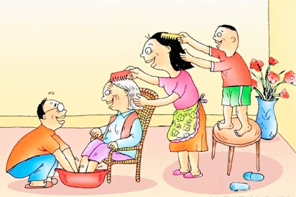 关于孝顺的中国人的思想.见图.您觉得呢\x3f 关于孝顺的图片