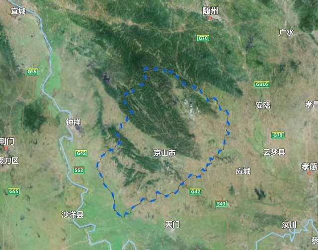 京山县人口_湖北省一县级市,人口超90万,名字源自安徽省一个县