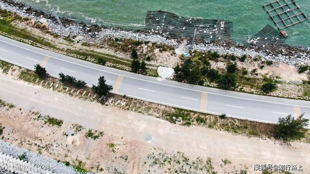 广西三墩岛最美的海上公路,现在就出发,奔赴一个碧海蓝天