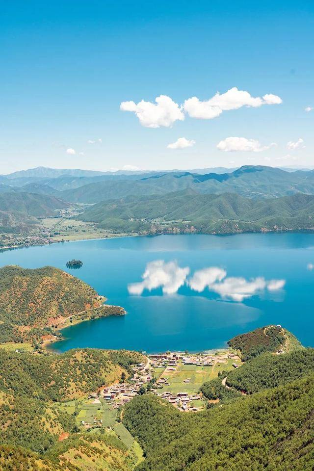 """夏日泸沽湖,就爱你的""""水性杨花""""!"""