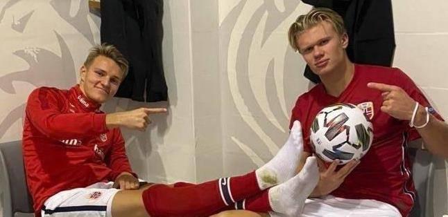 国际赛:挪威VS希腊!哈兰德能否带队取胜?                                   图2