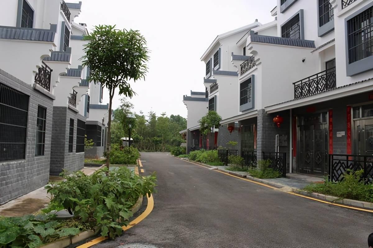 """广西南宁的""""气派村"""",家家户户是豪宅,村中却很少有年轻人"""
