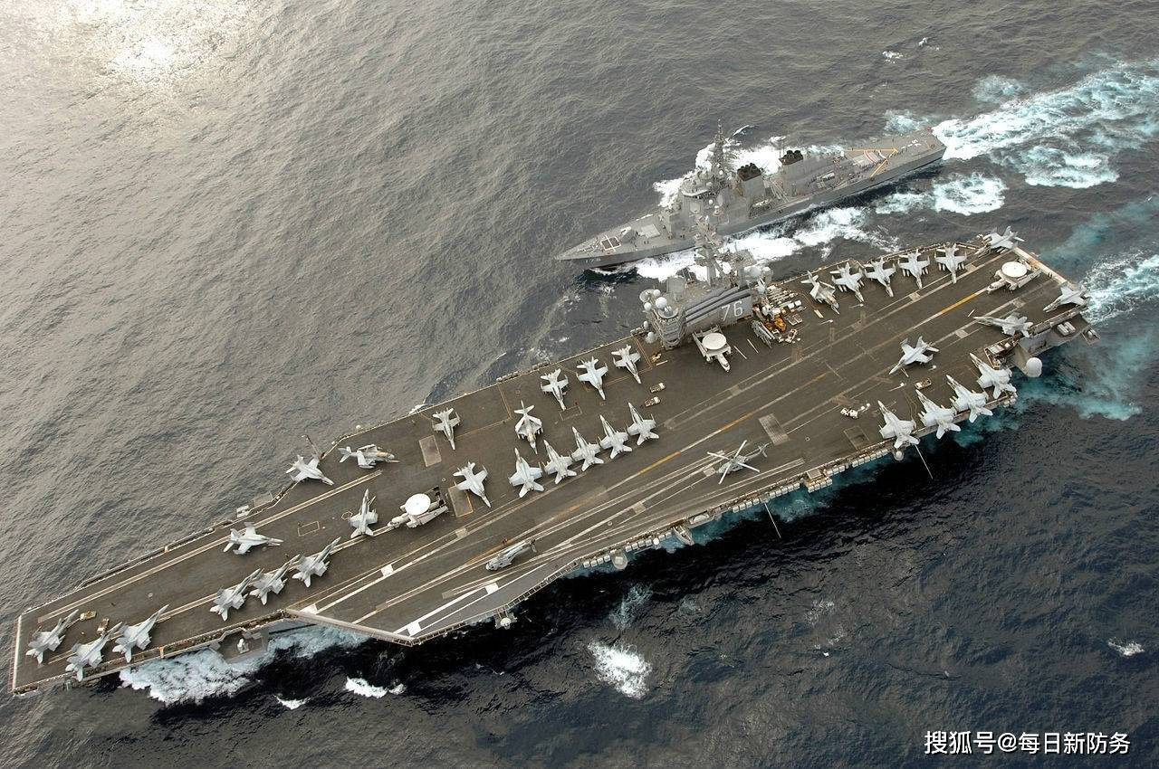 美军否认遭到驱离,却被卫星照打脸,英媒:军事行动吓唬不住中国