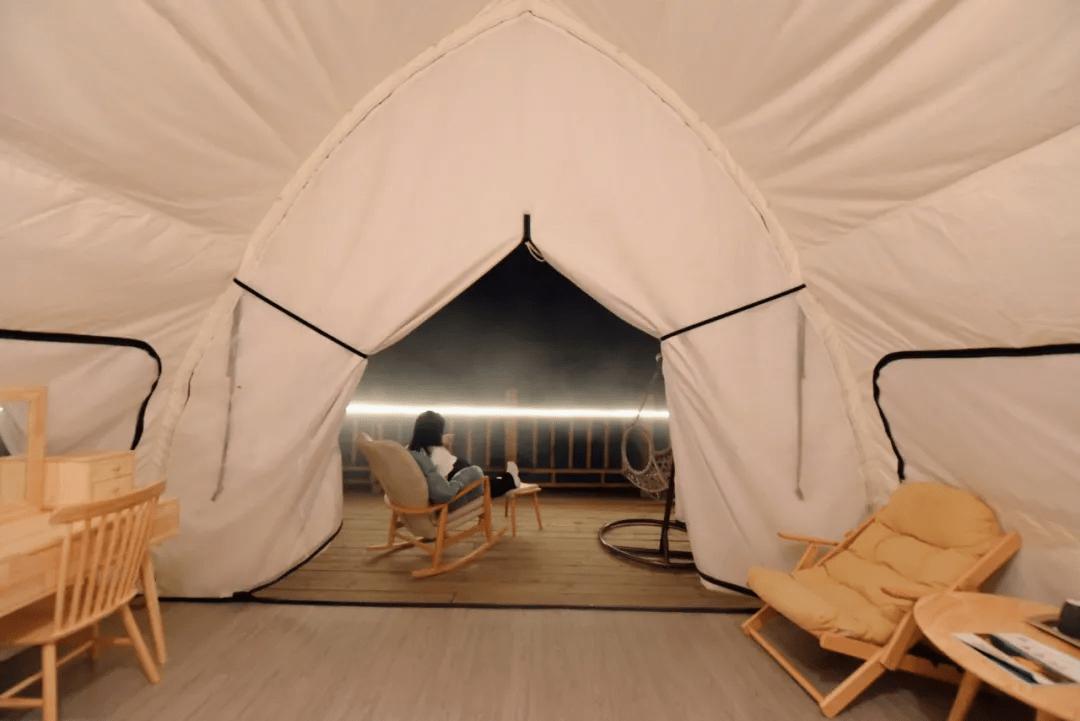 远离城市燥热,纵享山间清凉——聚云谷野奢帐篷酒店,避世又避暑