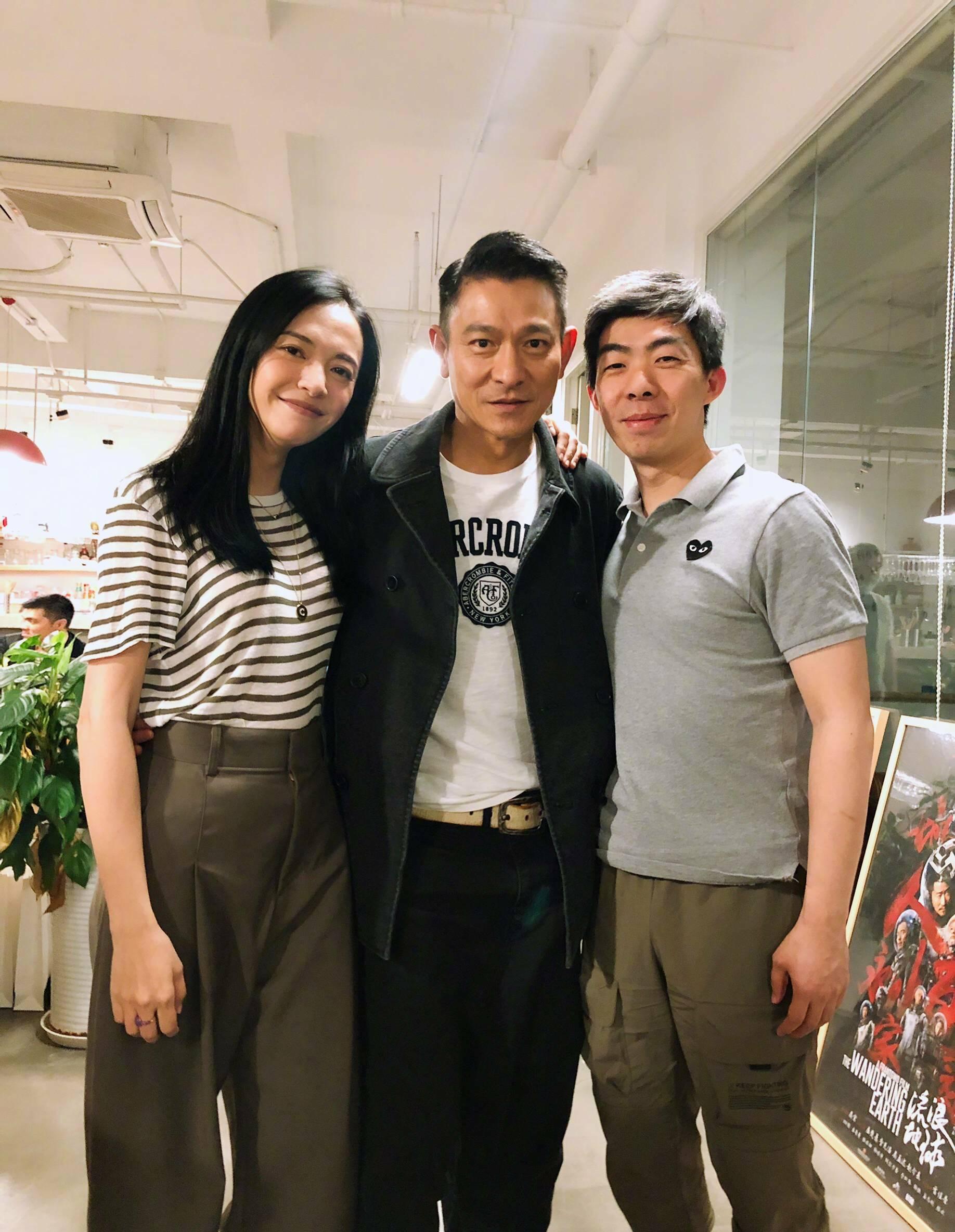 """57岁刘德华与姚晨合影 看不出真实年纪 依然是最帅的""""华仔""""-家庭网"""
