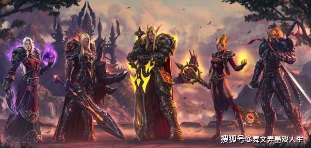 魔兽争霸3:UD的英雄和部队,变成亡灵之前,是这些种族