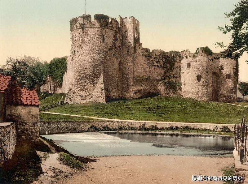 一组1890年代的英国明信片 带您去看看当年英国的城堡