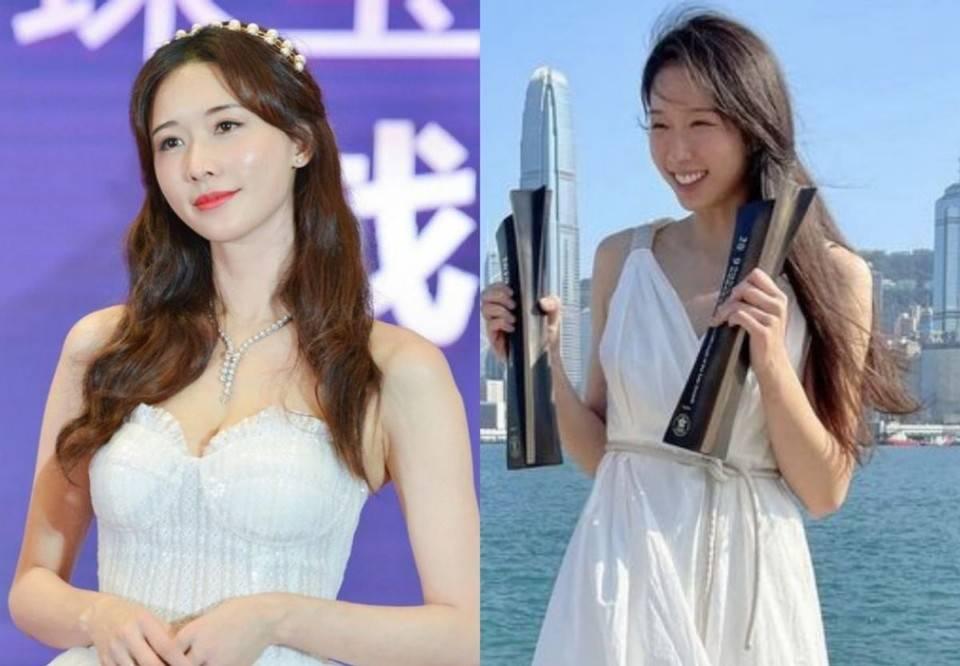 图片[2]-27岁香港击剑选手神似林志玲,同为名校毕业,身高178不输模特-番号都
