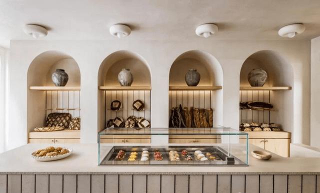 设计案例 | 温馨的面包店设计