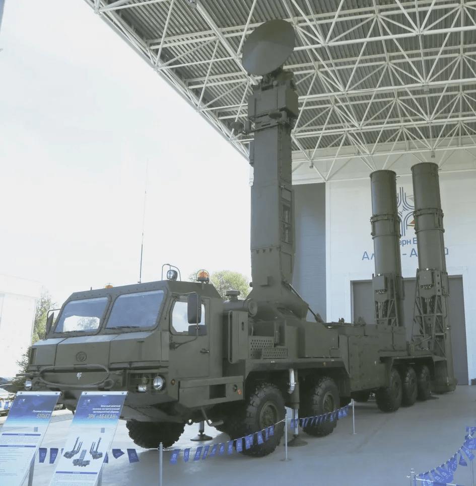 98R6E Abakan non-strategic ballistic missile defence system