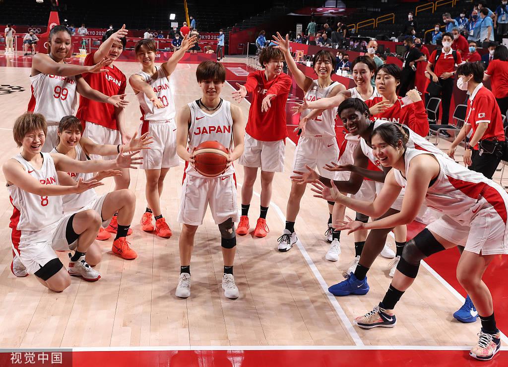 日本女篮轻取法国 史上首进奥运决赛将与美国争冠_ebet注册