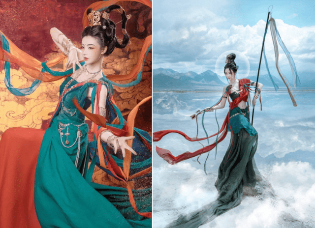 图片[3]-清华女学霸玩COS就不正经?一个汉服设计,让她成为人生赢家-妖次元