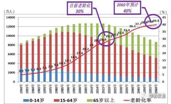 日本老年人口_过了65岁,还能做什么工作 892万日本老人正在努力