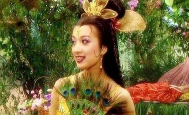 """《西游记》孔雀公主其实是赵李颖的""""师父"""" 谁会想到呢?"""
