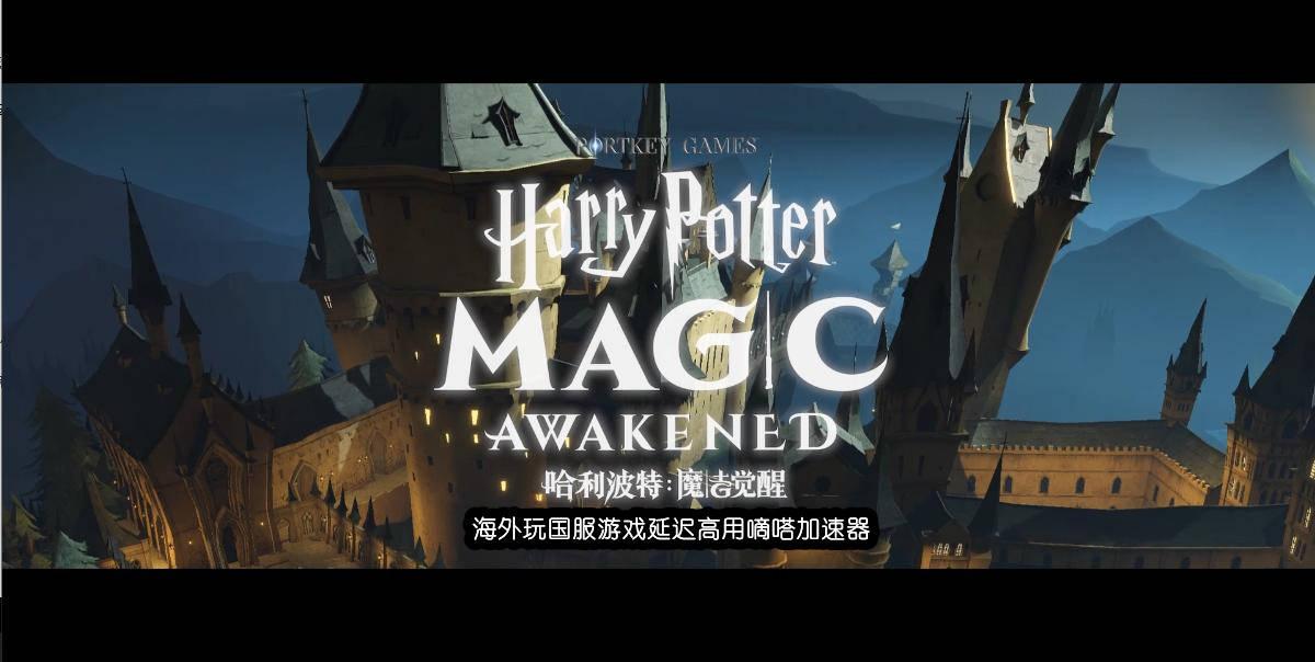 海外玩哈利波特魔法觉醒无法链接服务器?用国内服务器厂商排名嘀嗒加速器