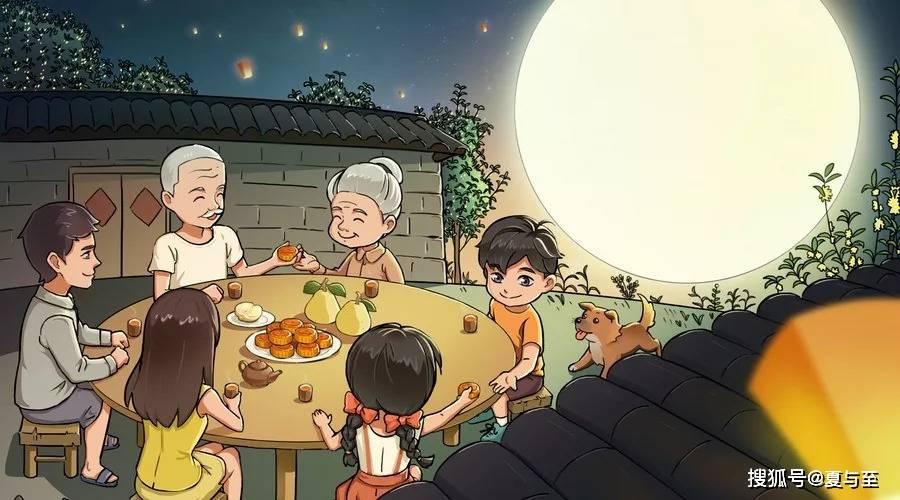 中秋节朋友圈温暖文案:不是月圆了才要回家,而是想念的人在家