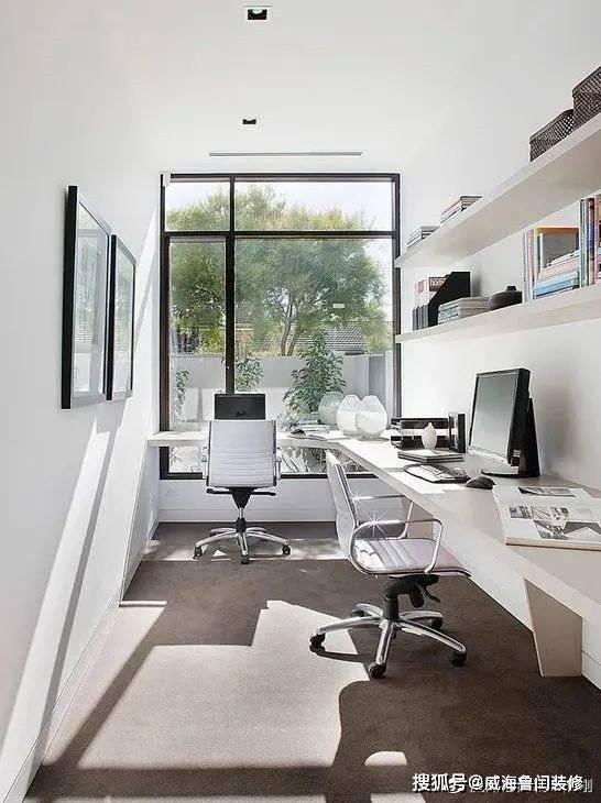 威海装修在家装个办公的地方如何?
