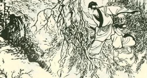 民间故事:货郎深山遇六品参,正要挖被野狐拦下,血渗土中现鬼叫