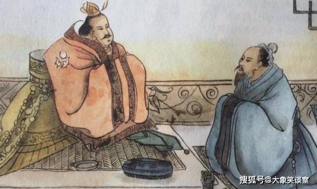 孔子向老子学礼,同齐景公谈论秦穆公,他志在天下啊