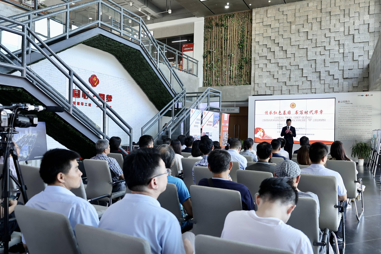 吴中区侨界国庆书画作品展在第一工园举行