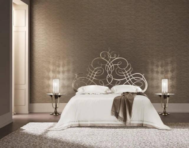 剪刀石头布进口家具CANTORI黄铜床,卧室空间的艺术!