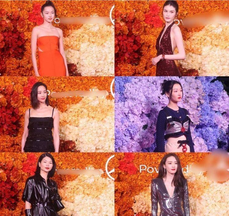 原创             众女星盛装出席红毯,杨幂大秀好身材,刘雯气场两米八,艳压全场