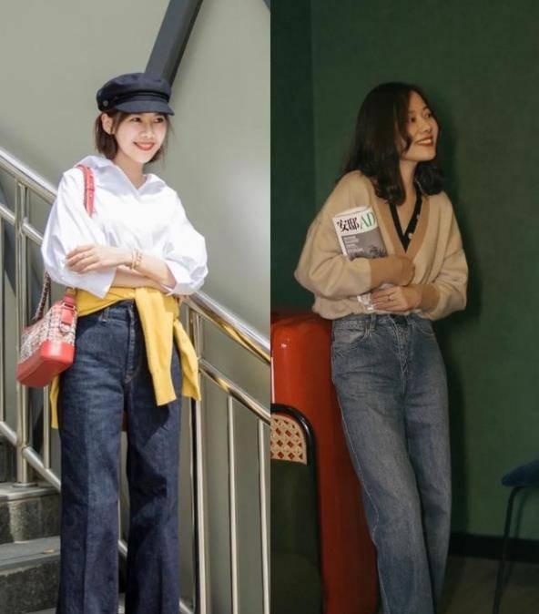 时尚博主教你如何穿牛仔裤,百搭又时尚,立马化身街头潮流达人