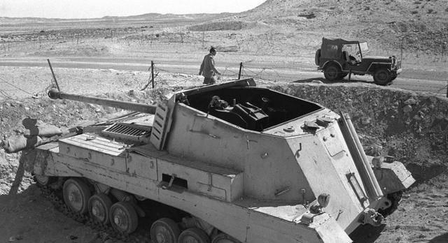 """二战皇家陆军自行火炮的先驱:奇葩的""""弓箭手""""坦克歼击车"""