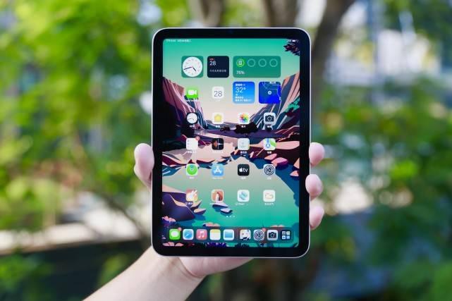 原创             iPad Mini6真实体验,全面屏+A15芯片