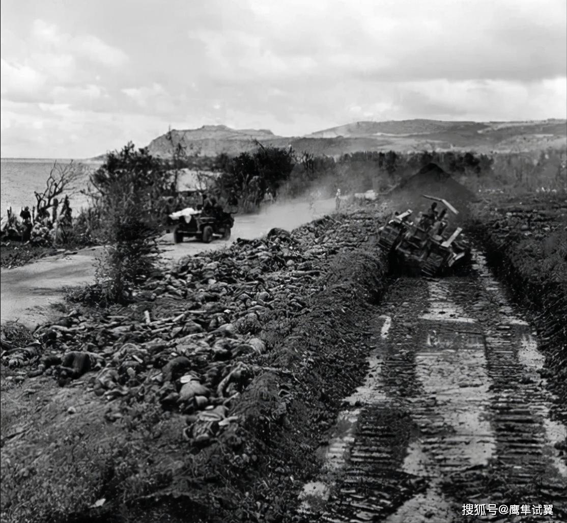 二战时一场战役死亡人数会达到几万甚至几十万,尸体如何处理的?