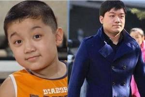 曾長相可愛的3位童星,如今他們都胖了,只有他從小帥到現在
