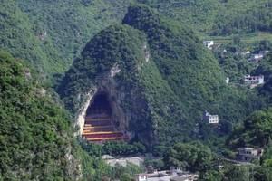 貴州深山大洞發現一神祕寺廟,裡面供奉著近萬尊佛像,全國罕見!