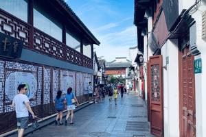 藍天映襯下的上海七寶古鎮,風景如畫!