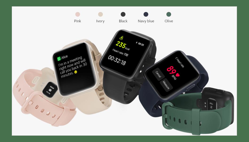 原创             Redmi Watch本月13日将登陆印度:7天续航+多功能NFC+超轻35g