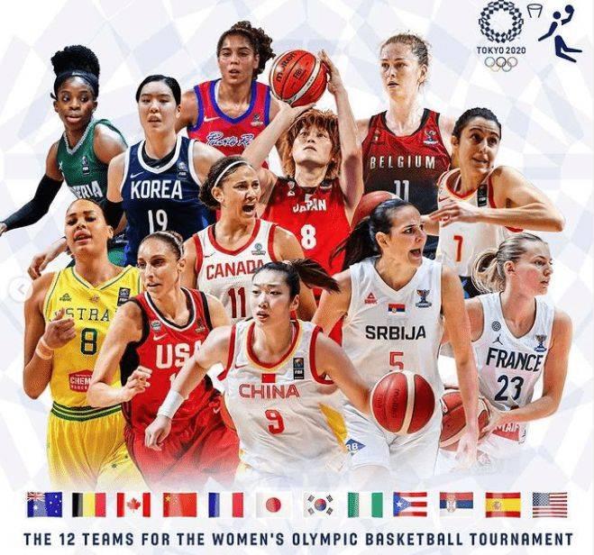 FIBA发布奥运女篮海报 李梦代表中国女篮位列C位_星辰娱乐平台