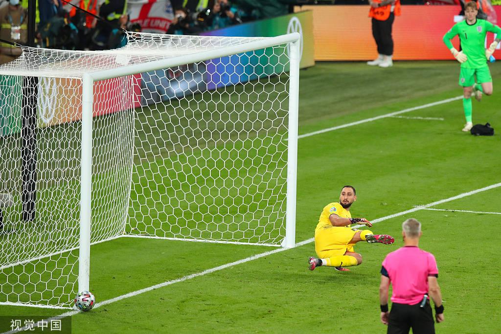 点球大战拉什福德罚失 意大利4-3英格兰夺冠