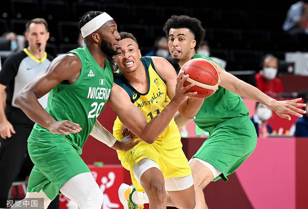 米尔斯25+6英格尔斯11分 澳洲男篮首战擒尼日利亚