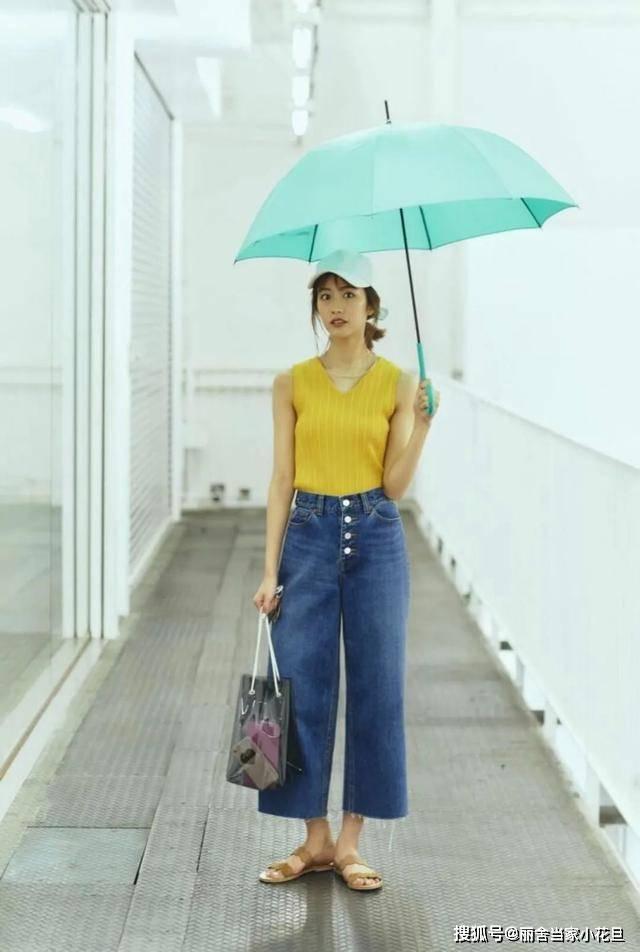 颜值丽舍:即使雨季,也要做街头最美的那道风景!