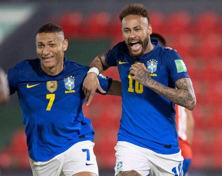 巴西前瞻:冲击世预赛7连胜 前中超锋霸或成奇兵