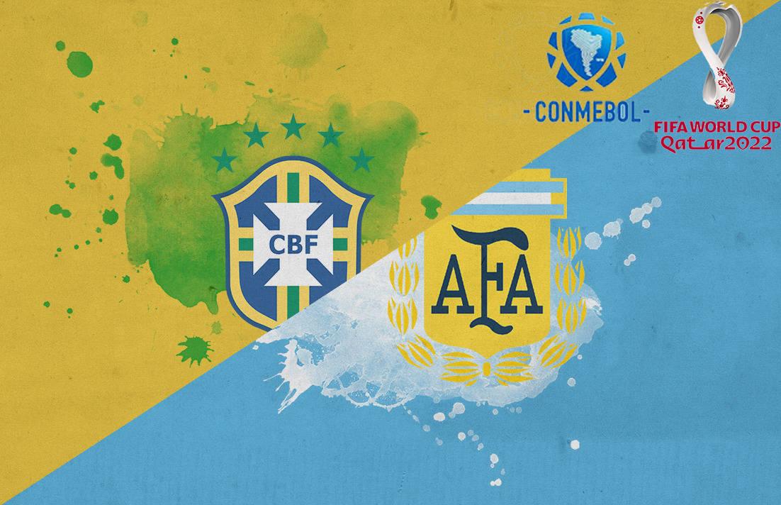 南美预选小组赛第六轮——巴西大战阿根廷 内马尔再遇梅西!