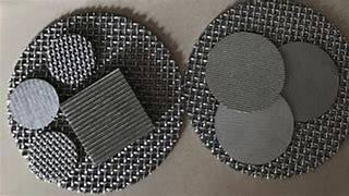 不锈钢多层烧结咖啡过滤网片咖啡机粉碗萃取过滤网