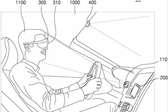 三星获 AR 眼镜专利:能够为驾驶员提供导航?
