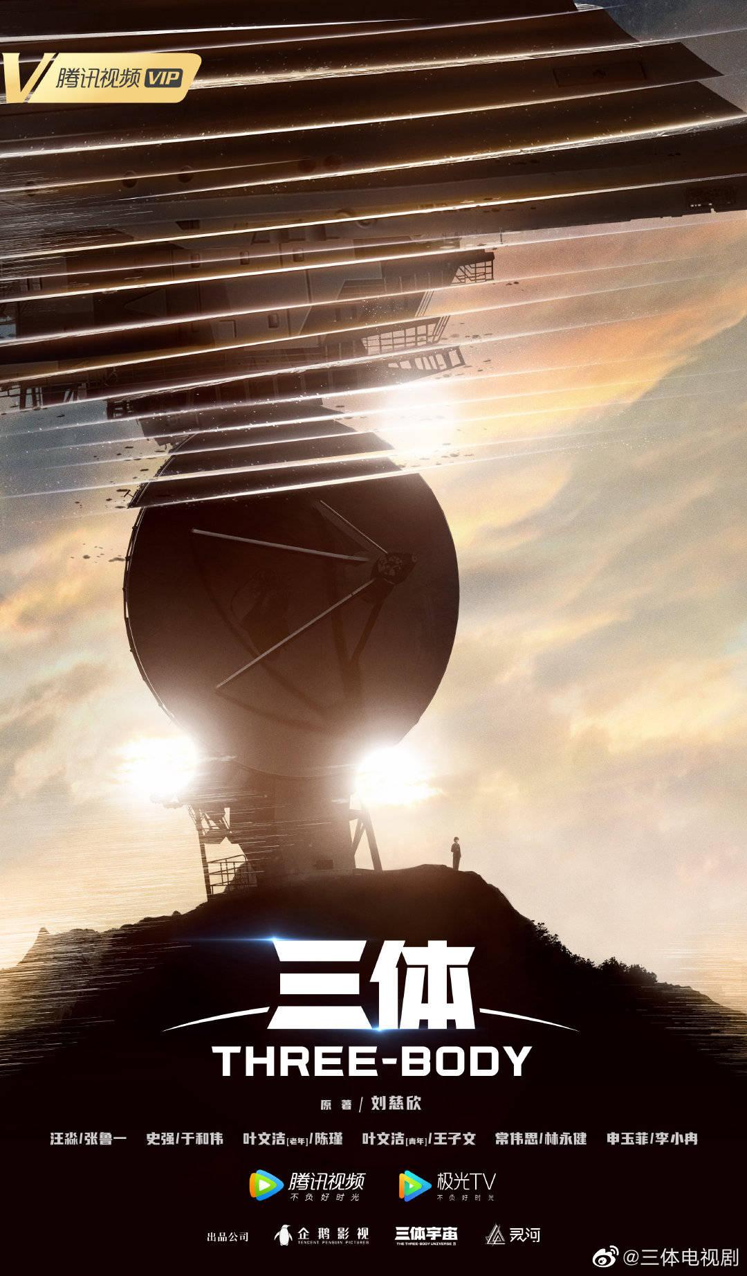 cctv6电影频道节目表电视剧《三体》官宣