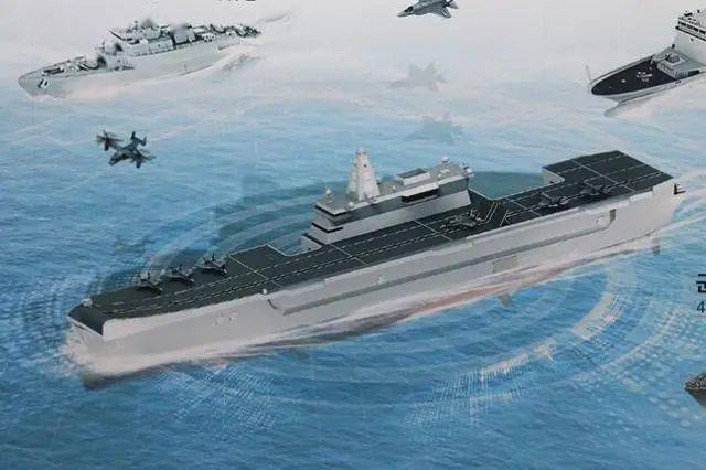 韩国积极推进轻型航母发展计划